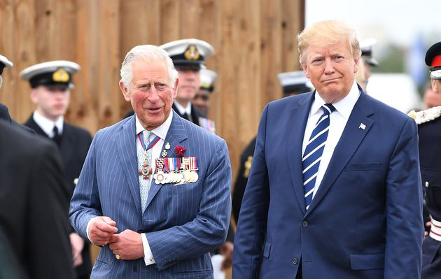Donald Trump Boasts About Meeting The Prince Of Whales