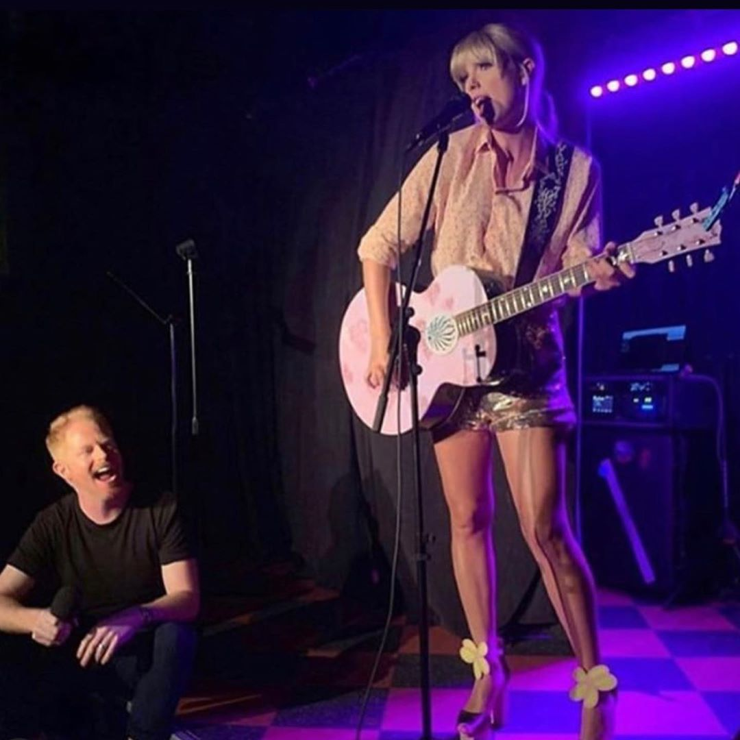 Taylor Swift gives surprise Pride Month performance at Stonewall Inn, a historic LGBT site in New York