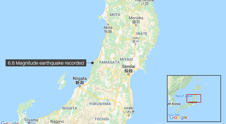 Japan earthquake: Tsunamis expected imminently in three coastal regions