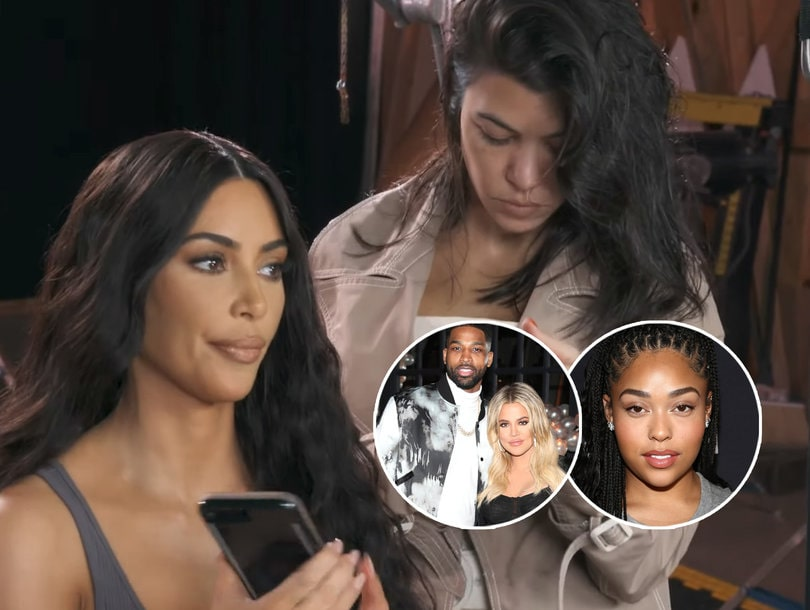 Khloe, Kourtney, Kim and Kylie React to Jordyn-Tristan Scandal: I Need the F--king Whole Truth!