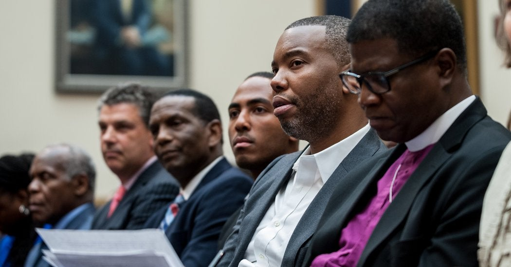 Ta-Nehisi Coates Assails Mitch McConnell at Raucous Reparations Hearing