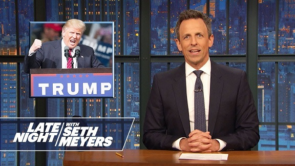 Seth Meyers, Stephen Colbert, Jimmy Kimmel mock Trumps 2020 campaign launch