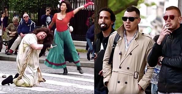 James Corden Takes Crosswalk the Musical to France with Les Misérables and Parisians Dont Know What to Think: WATCH