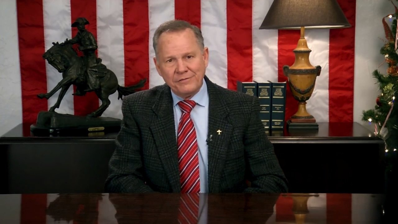 Roy Moore to run again for US Senate seat in Alabama