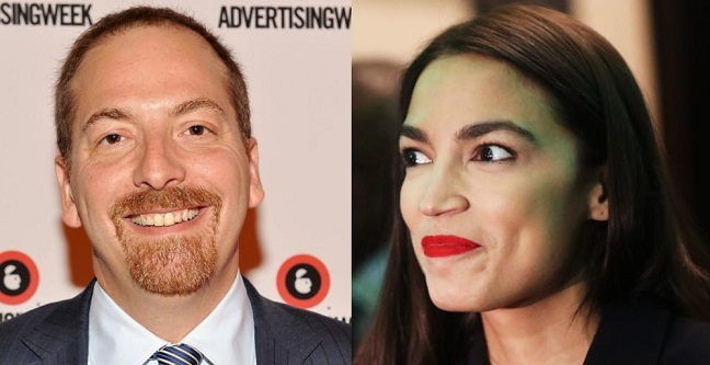 Left-Wingers Pile On Chuck Todd For Calling Out Ocasio-Cortez