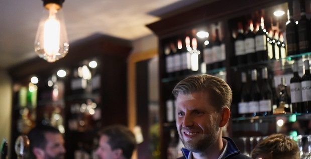Eric Trump Says He Was Spit on by Restaurant Employee in Chicago