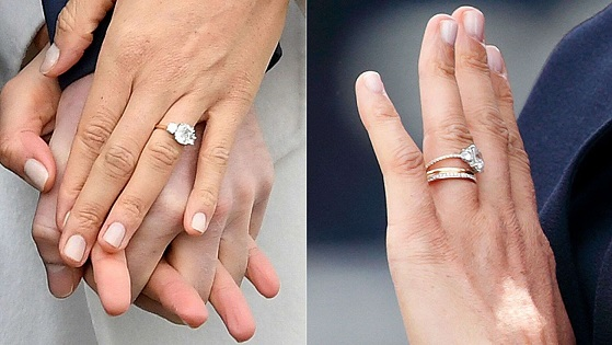 Meghan Markles updated engagement ring gets slammed by royal expert: I find it a bit odd