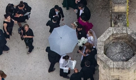 Joe Jonas and Sophie Turners Second Wedding in France, All the Looks
