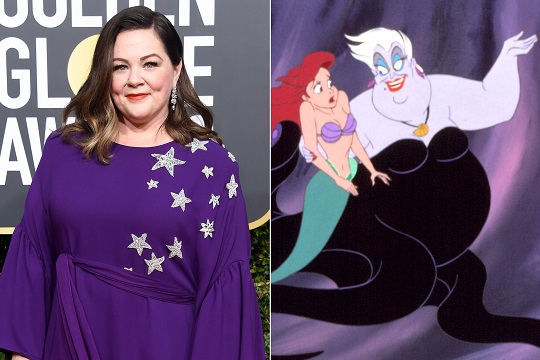 Melissa McCarthy in talks to play Ursula in live-action Little Mermaid