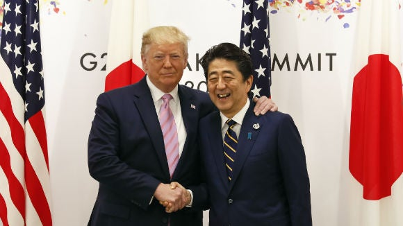 Japan gave Trump a colorful map to explain US investments: report