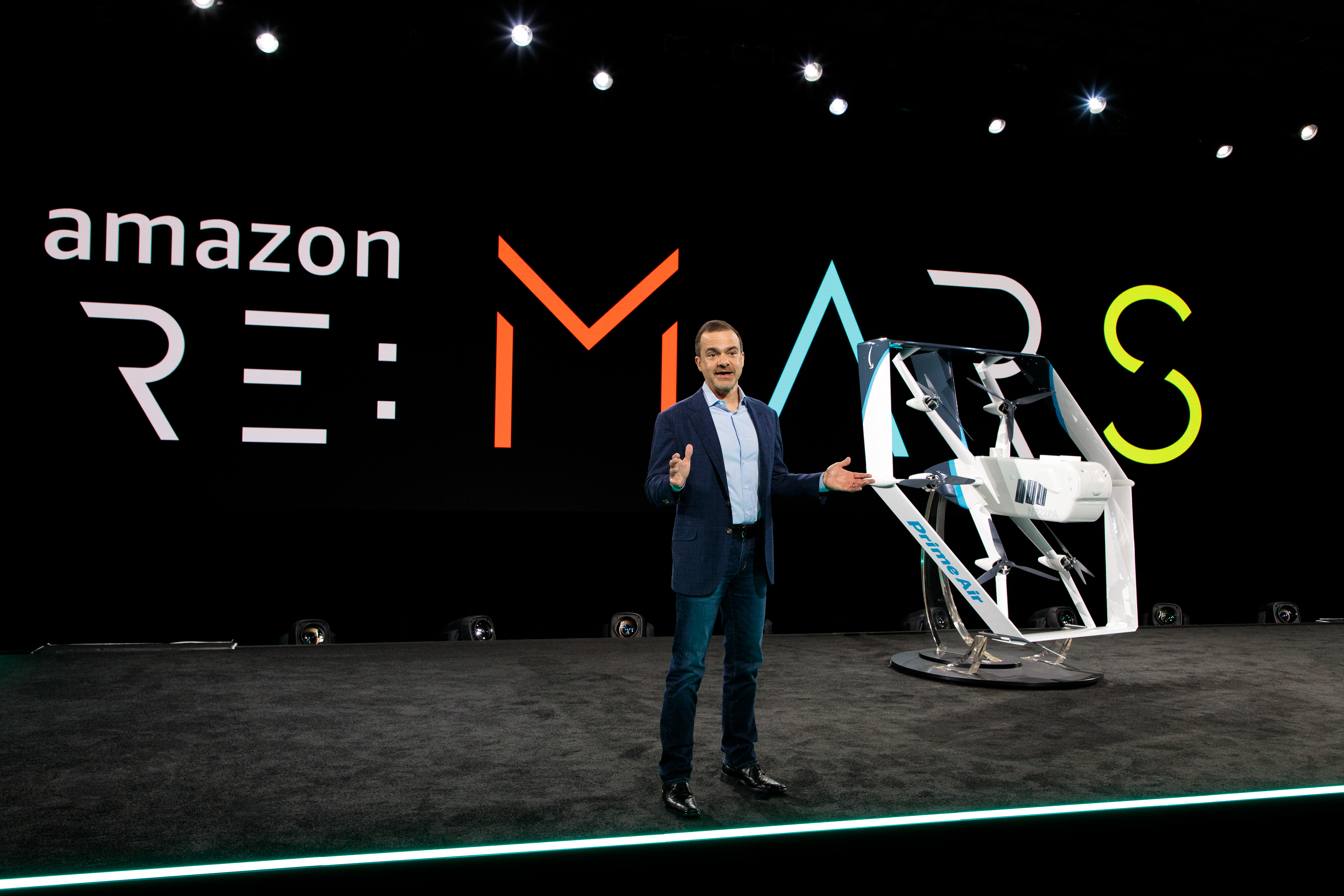 A first look at Amazon's new delivery drone