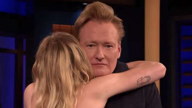 Sophie Turner slapped Conan OBrien across the face while playing a drinking game on Conan: Watch