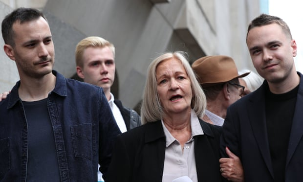 Sally Challen walks free as court rules out retrial for killing abusive husband
