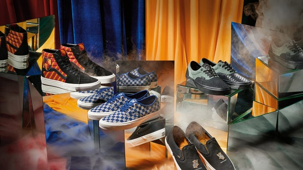 Vans unveils Harry Potter sneaker collection
