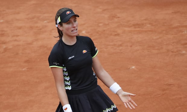 Johanna Konta questions French Open organisers after semi-finals court switch