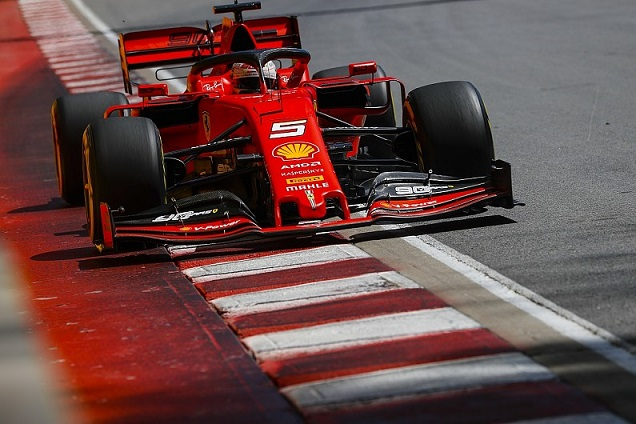 Ferraris Vettel: Still reasonable gap to Mercedes in Canadian GP