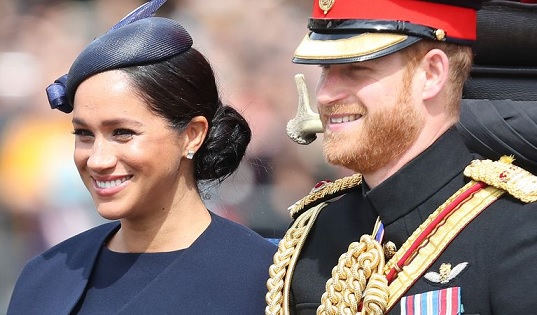 Meghan Markle Trooping the Colour Photos ,Hidden Outfit Details