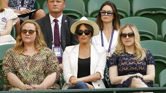 Meghan Markle's bodyguard mistakenly confronts Wimbledon fan who was taking selfie