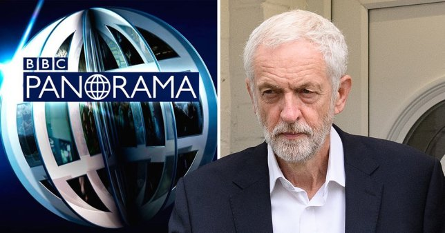 Jeremy Corbyn pictured ahead of Panorama show on Labour anti-Semitism