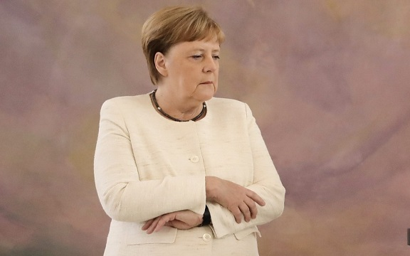 Angela Merkel says she is very well despite third shaking episode