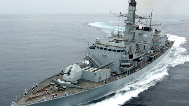 Iranian boats tried to intercept British tanker