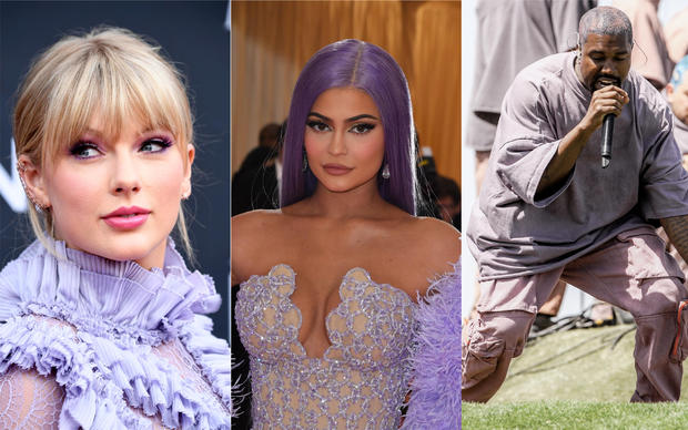 Forbes highest paid 2019 celebrities: Taylor Swift, Kylie Jenner, Kanye West make Forbes list of 100 highest-paid entertainers