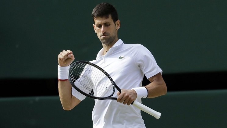 Novak Djokovic beats Roger Federer in epic five-set match to win Wimbledon men's title