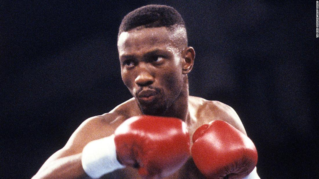 Legendary boxer Pernell Sweet Pea Whitaker dies after hes hit by a vehicle