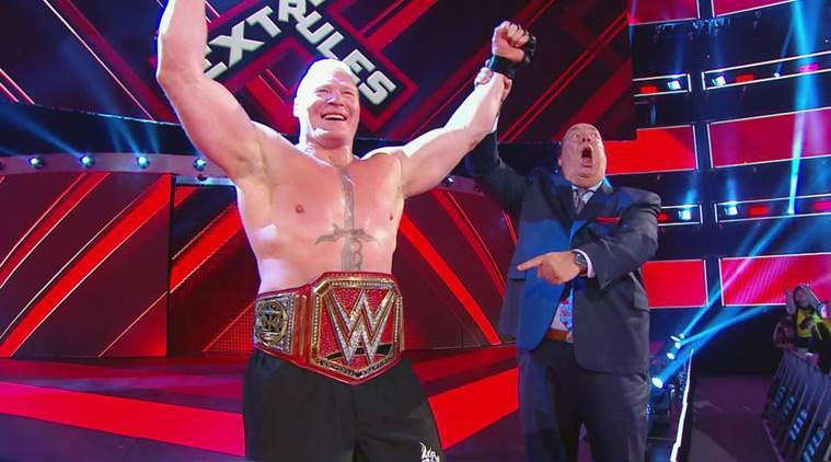 WWE Extreme Rules Results: Brock Lesnar cashes in MITB contract; The Undertaker, Roman Reigns stand tall