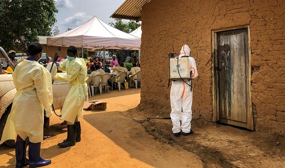 Congo confirms 1st Ebola case in city of Goma