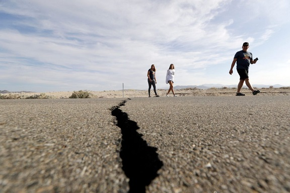 Is The Big One next? California was shaking again Tuesday, with six earthquakes of 3.5 or greater