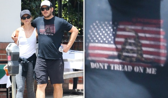Chris Pratts Dont Tread On Me Shirt Has White Supremacy Ties and Stirs Debate