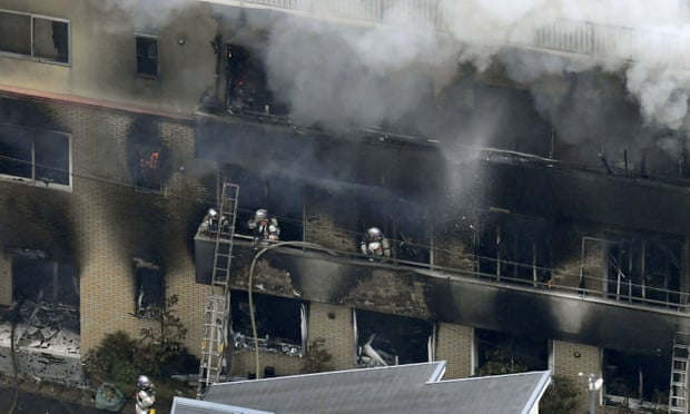 Several dead after suspected arson attack on Kyoto Animation in Japan
