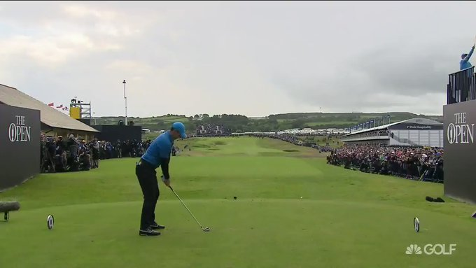 British Open: Rory McIlroy opens with disaster after quadruple-bogey 8 on first hole