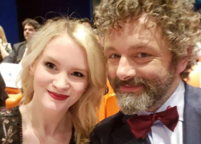 Michael Sheen expecting baby with 25-year-old Swedish model girlfriend Anna Lundberg