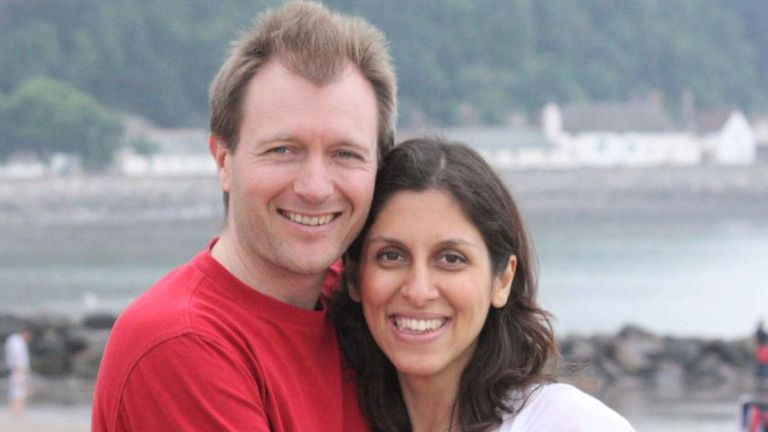 Richard Ratcliffe on the fight to free his wife Nazanin from Iranian jail – video