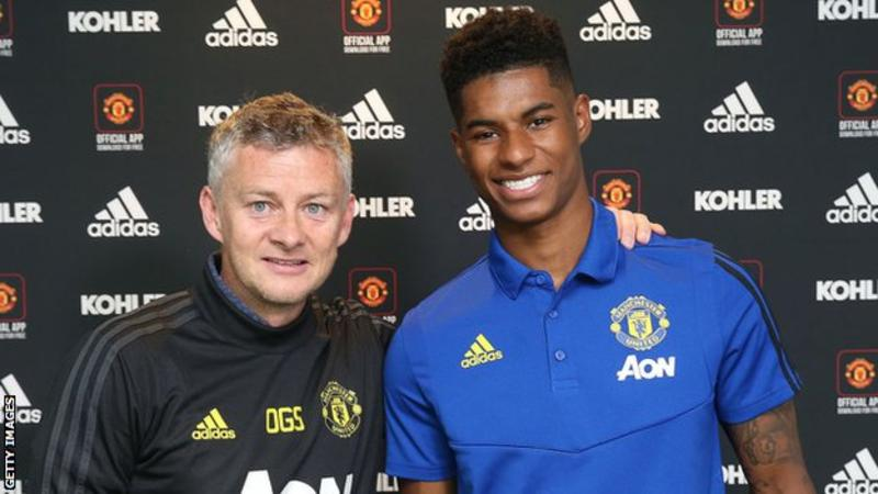 Marcus Rashford: Man Utd striker signs new contract to 2023