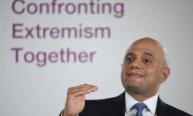 Sajid Javid praises Nigel Farage in speech on extremism