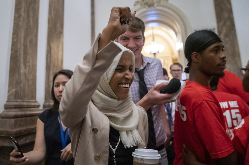 Rep. Ilhan Omar Receives Heros Welcome Home Amid Trump Attacks