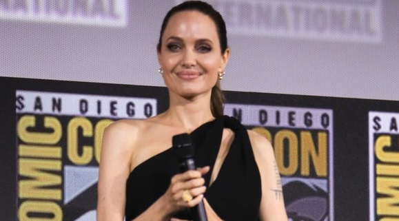 Angelina Jolie Joins The Eternals Co-Stars at Comic-Con 2019!