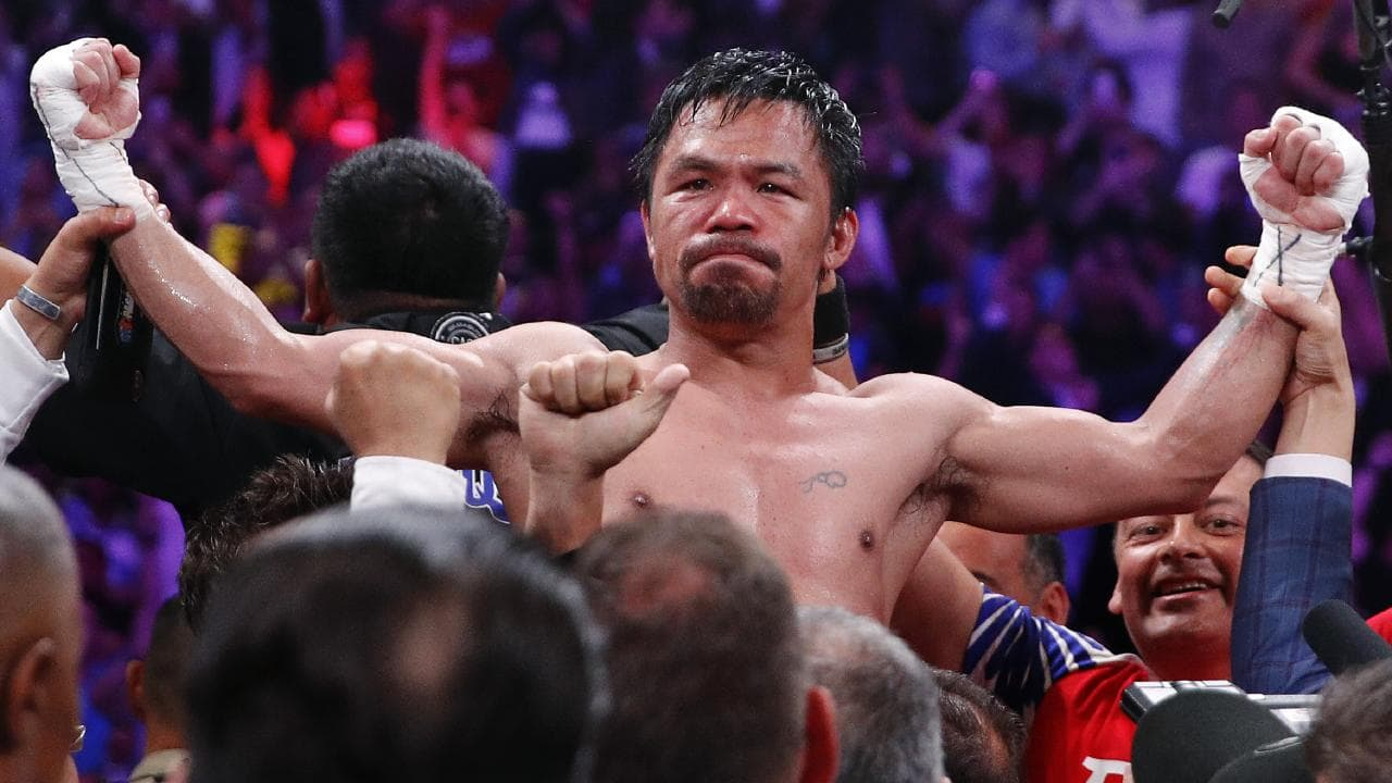 Manny Pacquiao rolls back years in split-decision win over Keith Thurman
