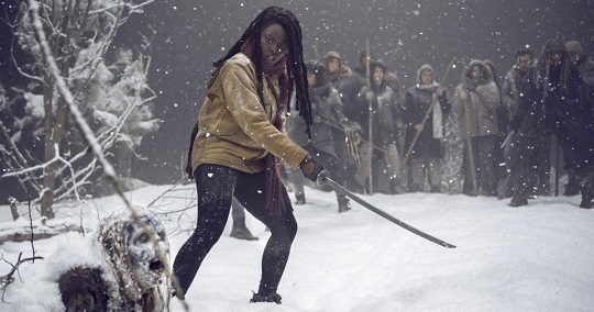 The Walking Dead cast says goodbye to Danai Gurira: Were gonna miss you so much