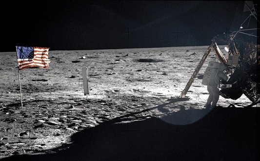 Watch Neil Armstrongs first steps on the moon