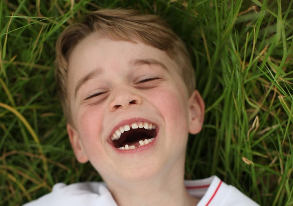 Prince George Flashes His Missing Tooth in Super Casual New Birthday Portraits: See All 3!