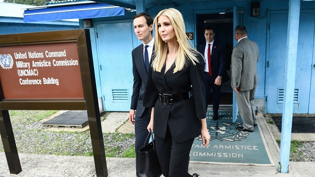 Ivankas North Korea Photobombs Perplex White House Officials