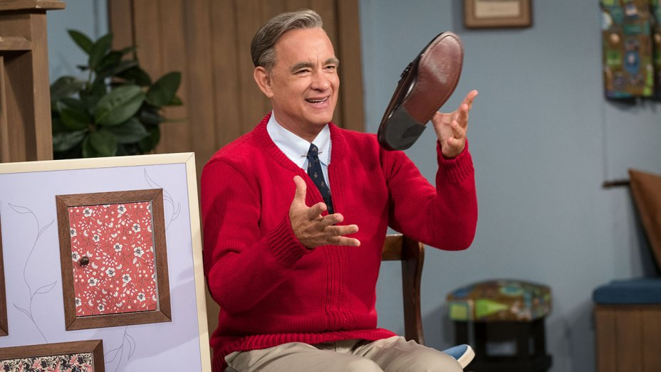 See Tom Hanks as Mr. Rogers in the first trailer for A Beautiful Day in the Neighborhood