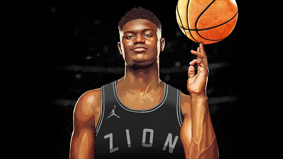 Zion Williamson Joins Jordan Brand Family