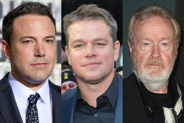 Ben Affleck, Matt Damon Reteam for 'The Last Duel,' Ridley Scott to Direct