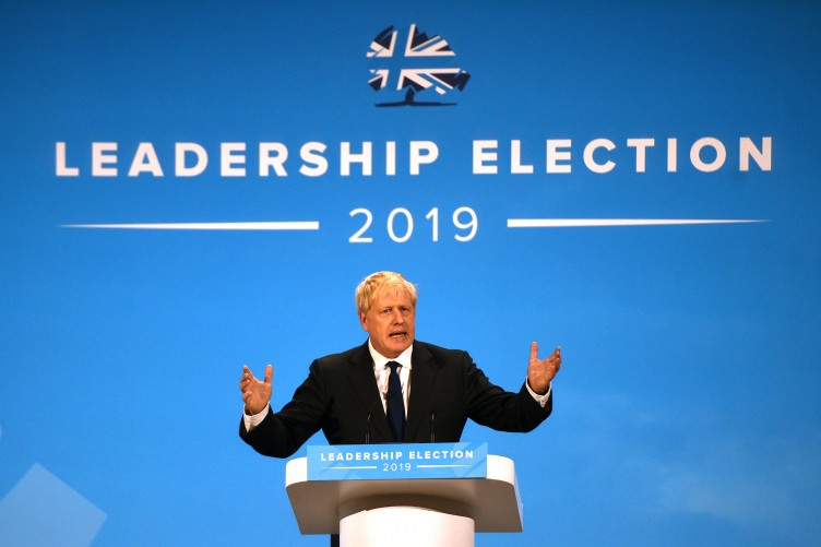 Boris Johnson elected new Tory leader