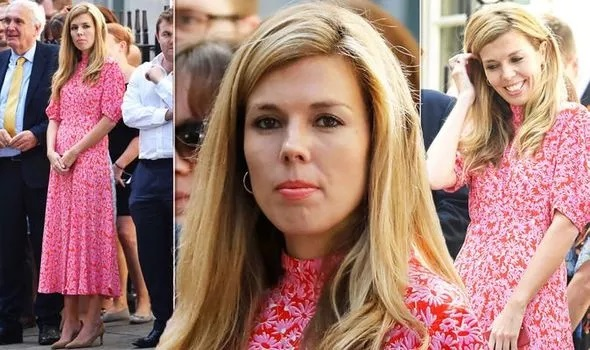 Boris Johnson girlfriend Carrie Symonds becomes fashion ICON as pink dress sells out